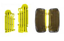 New Suzuki RMZ 450 18 2018 Radiator Rad Louvres Plastics & Mesh Covers Yellow